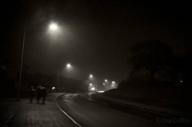 When ghosts walk the streets by BlueShadowM