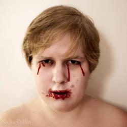 Tears of blood by BlueShadowM