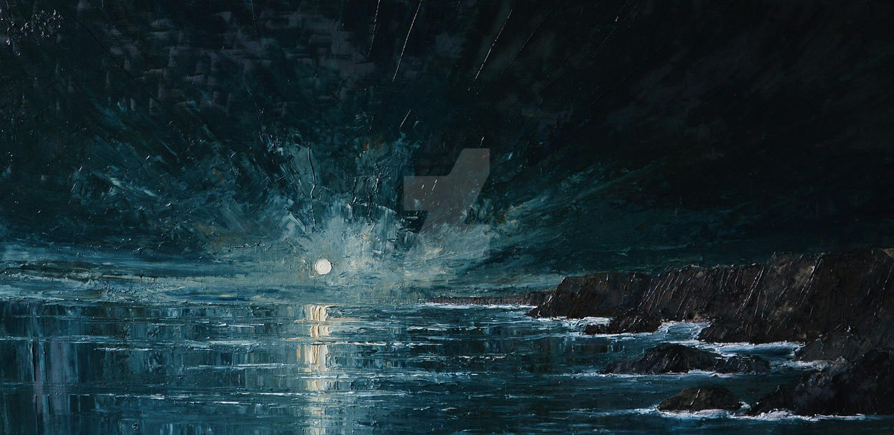 Sea...- Moon... by StudioUndertheMoon