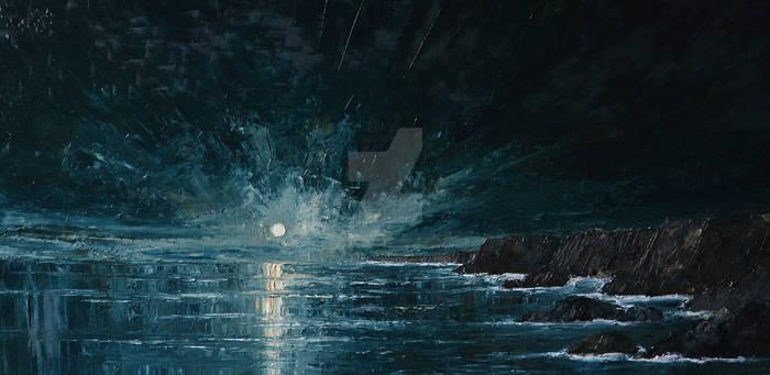 Sea...- Moon...