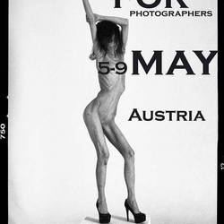 You can book her for photoshooting in Austria by boneskine