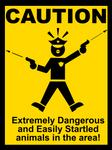 Startled Police Sign2