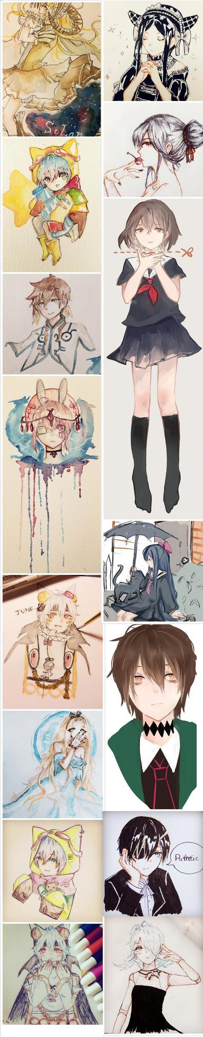 Art Dump by Nekoichu