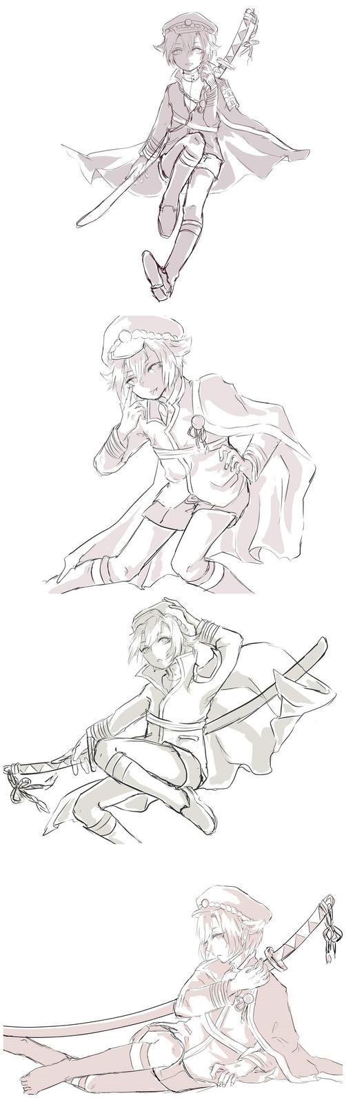 Hota doodles by Nekoichu