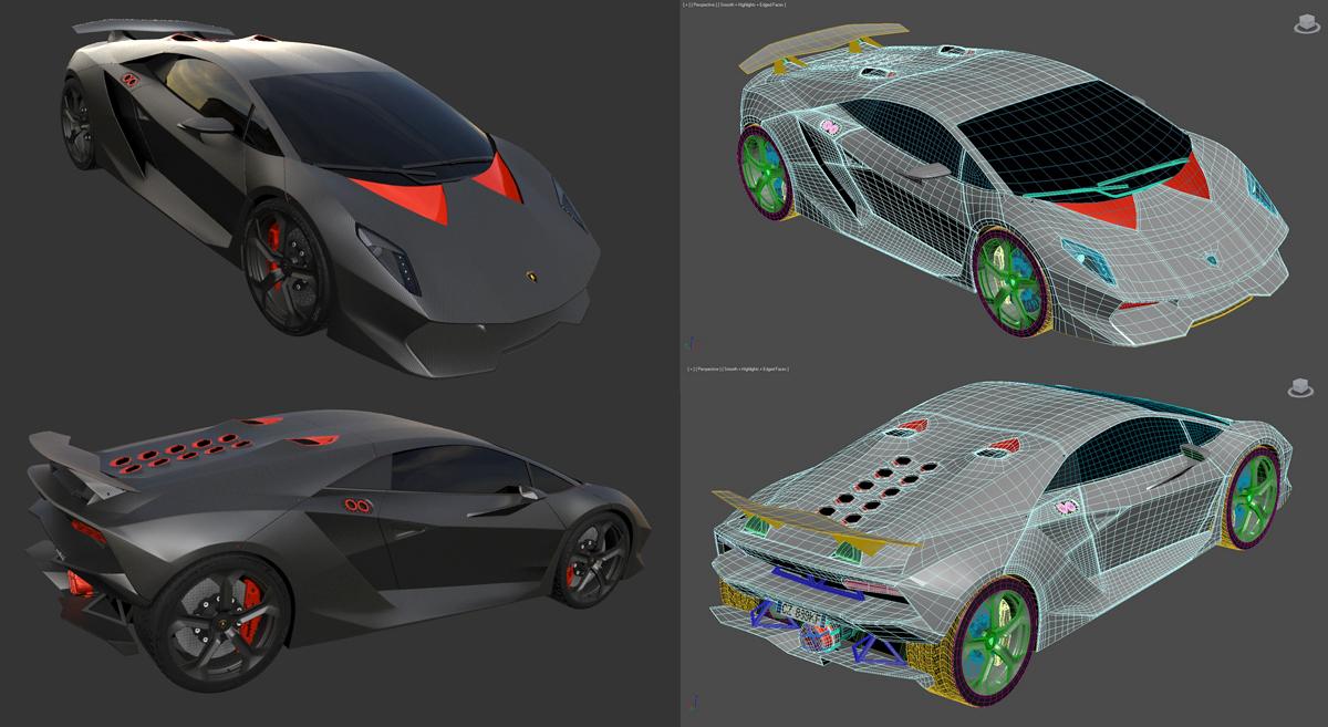Lamborghini Sesto Elemento by STH-pl
