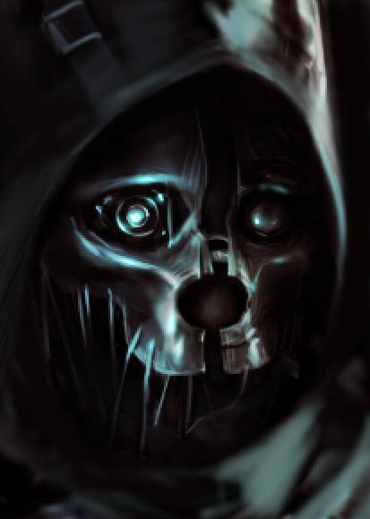 Corvo's mask by Duke-Kleist