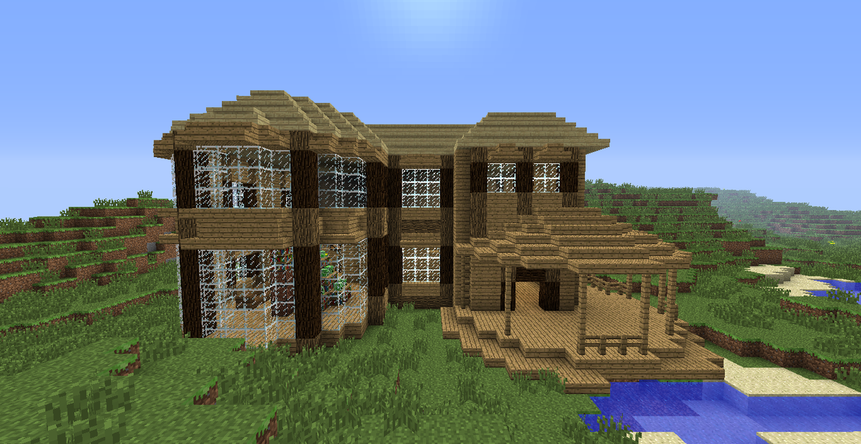 minecraft house 1 by mylithia on deviantart