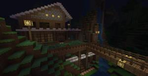 A minecraft house II