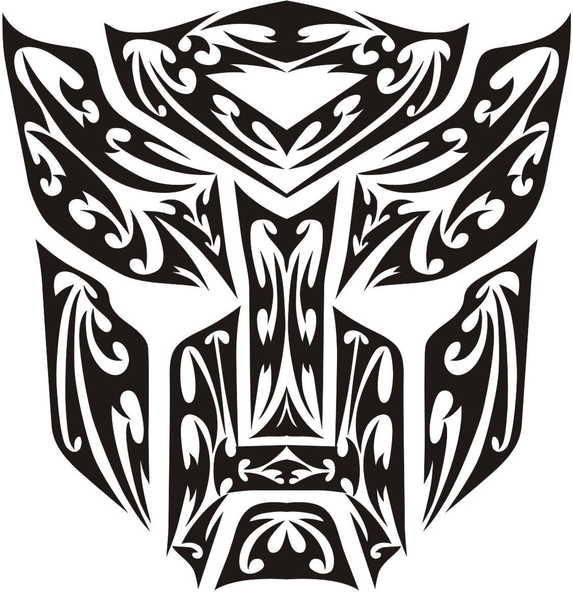 Transformer Autobot tribal logo by nacheers on DeviantArt
