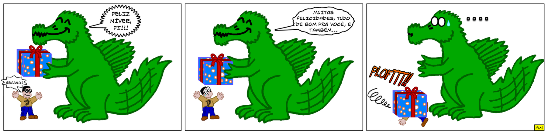 Happy Birthday Buddy by Draco-Saurian