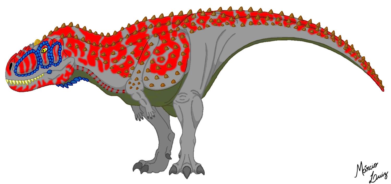 Aucasaurus garridoi by Draco-Saurian