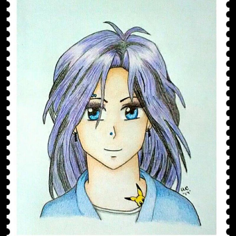 Manga girl by jj48bf
