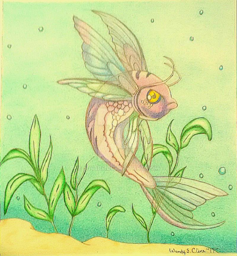 Fantasy Fish by jj48bf