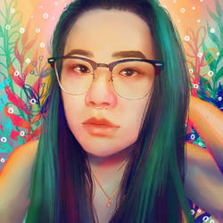 Welp Portrait by elanorchuah