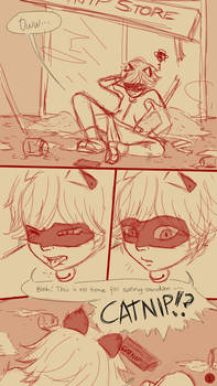 Miraculous LadyBug Comics-LB's First Nosebleed pg1