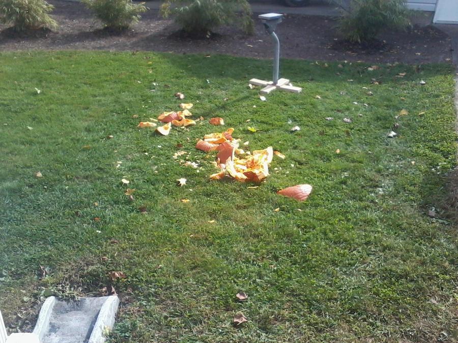 Pumpkin Massacre by ravinniaofcreed