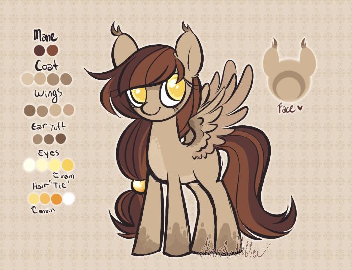 Owl-ish Pony [Custom] by SharkMochi