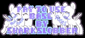 Mini Pony Base V2 [P2U BASE] by mvnchies