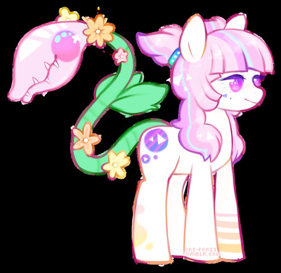 Guess Who Finally Got a Plant Pony by SharkMochi