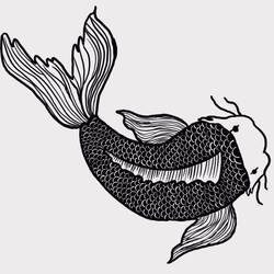 Koi fish ( finished)