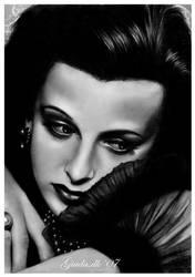 Hollywood's glam: Hedy Lamarr by Giada-C