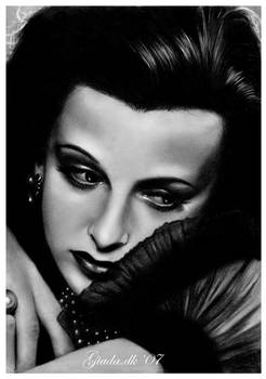 Hollywood's glam: Hedy Lamarr