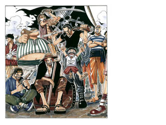 Red-Haired Shanks and Crew