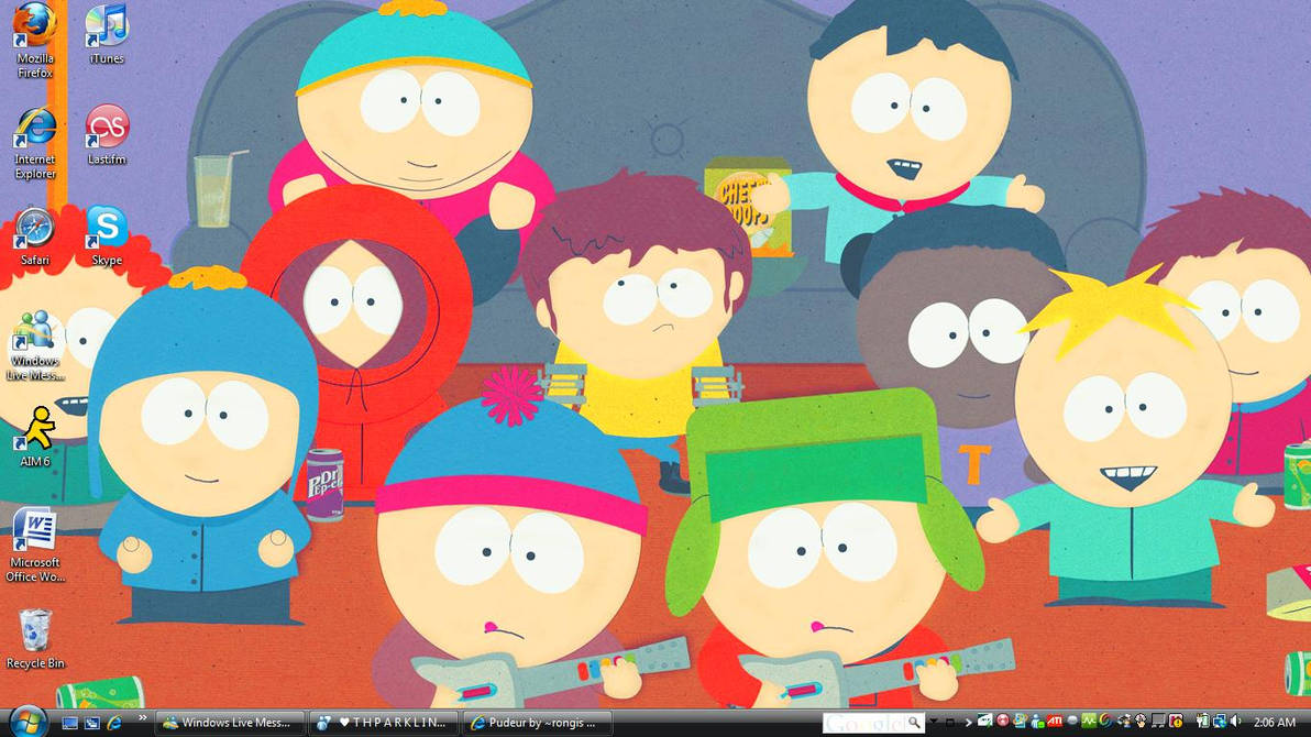 South Park Desktop Wallpaper By Bigbroflovskifan On Deviantart