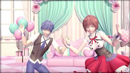 Pop Drop Candy - KaiMei [KAITO x MEIKO] by CupcakeRiyoko