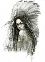 Girl by ElinasArt