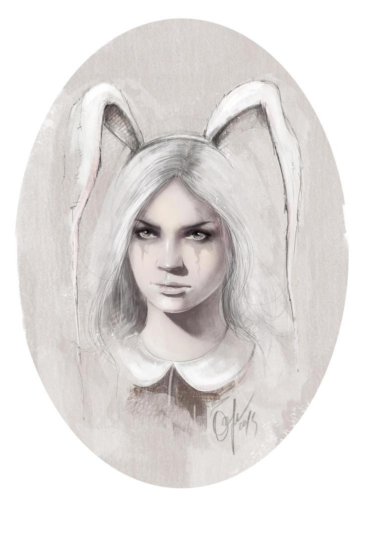 Bunny 2 by ElinasArt