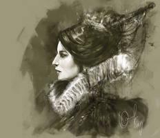 Queen by ElinasArt