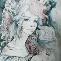 Portrait by ElinasArt