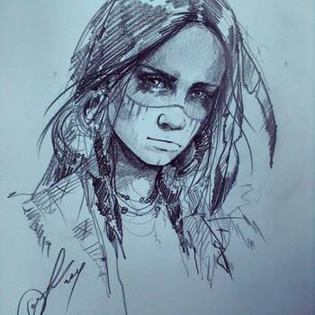 I by ElinasArt