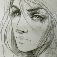 Eyes:-) by ElinasArt