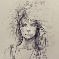 Wind by ElinasArt