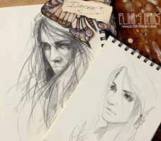 portraits by ElinasArt