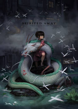Spirited away fanart