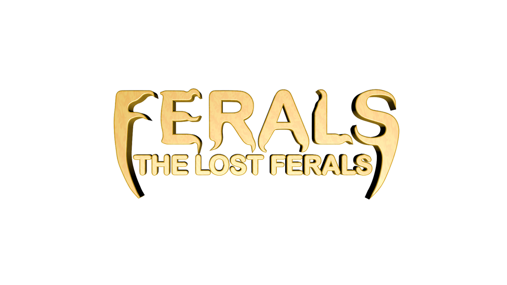 The Lost Ferals (LOGO 2) by AnimaP-NetoLins