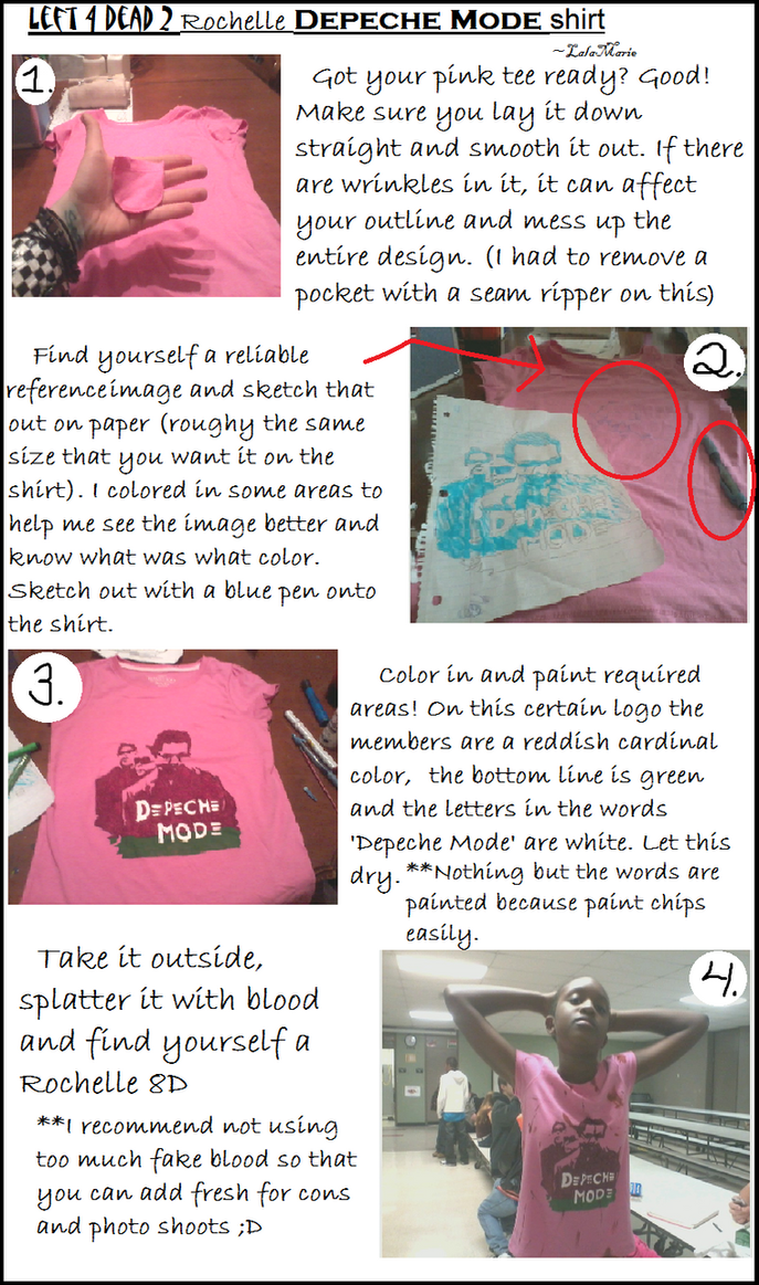 how to make fake blood stains on a shirt