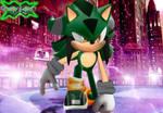 Green Light The Hedgehog Wallpaper by ThiagoSNP
