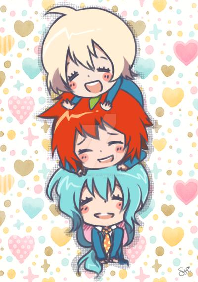 tsuritama: precious babies by hinata-hime