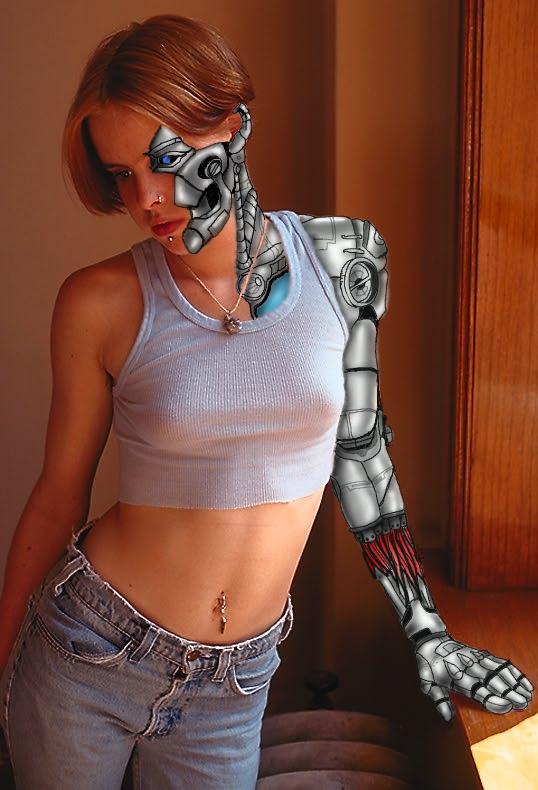 Robo girl by Flam-On