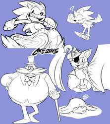 Fanart - Sonic and friends