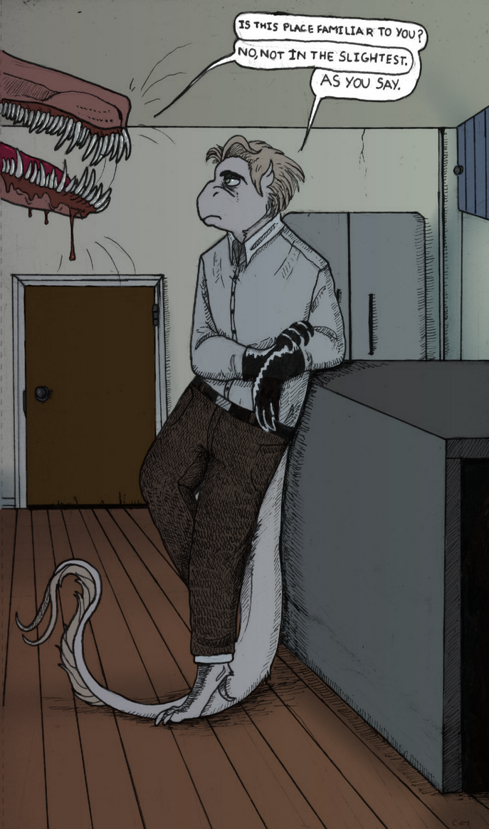 In Rooms We Don't Remember by Bird-Blood