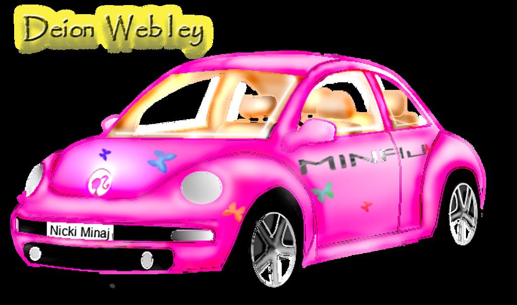 Nicki Minaj Barbie Dream Car By Webkidd