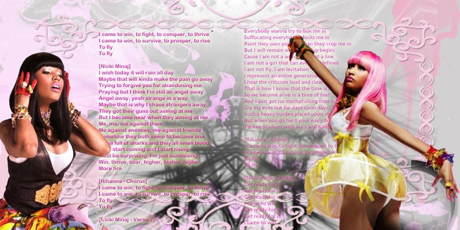 Rihanna And Nicki Minaj Fly
