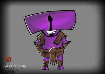 DOTA2- Cartoon Faceless Void by ChargeIn