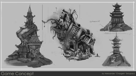 Concept Sheet for personal project: Temple of doom