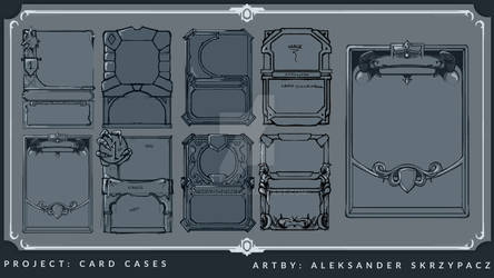 Card Cases - Concept Art - Personal Project